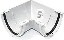 Marley Deepflow 110mm WHITE 90 degree Angle RAD10w