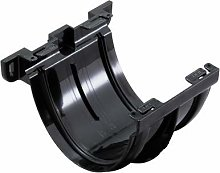 Marley Deepflow 150mm Black Union Bracket RUJ1b