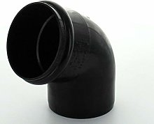 Marley Downpipe Bend 68mm 67.5Deg RB252 Black