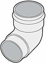 Marley Guttering Bend 87.5º RB251 68mm Downpipe