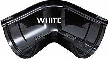 Marley RAJ1W White Deepflow 150mm Gutter 90 Degree