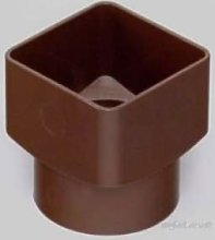 Marley RLE2BR Brown 65mm Square to 68mm Round