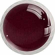 Maroon Pattern Drawer Knobs Pulls Cabinet Handle