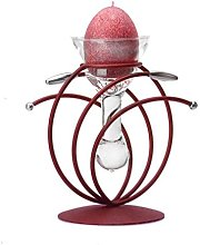 Maroon Red Gloss Heroklio | Metal and Glass Candle