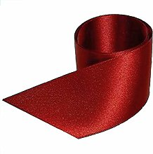 Maroon Satin Ribbon - 50mm Wide - 5 Meter - GCS