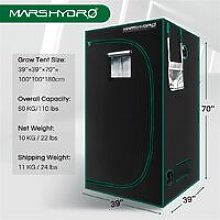 Mars Hydro 100x100x180cm Indoor Grow Tent Room Box