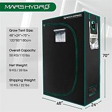 Mars Hydro 120x60x180cm Grow Tent Kits 100%