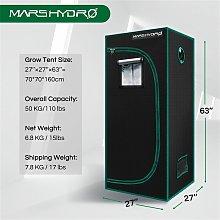 Mars Hydro 70x70x160cm Indoor Grow Tent Room Box