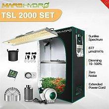 Mars Hydro TSL 2000W Led Grow Light+4'x2'