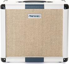 Marshall - 2512 1x12 Cabinet White/Blue