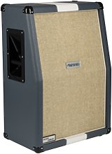 Marshall - 2536A Vertical 2x12 Cabinet Blue/White