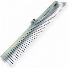Marshalltown M14860 Flat Wire Texture Broom 48'