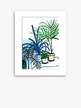 Marta Chojnacka - Group Of Plants Unframed Print &