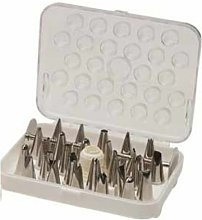 Martellato BOS 26 Piece Stainless Steel Pastry Bag