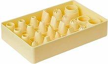 Martellato BOSPL 4 20 Piece Plastic Pastry Bag