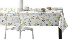 Martina Home Chickens Tablecloth resinado and