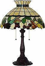 MARUA Fruit Crown Night Light, Tiffany Style Table