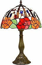 MARUA Inch Style Table Lamp, Retro Bedside Table