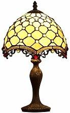 MARUA Table Lamp, Tiffany Desk Lamp Lighting