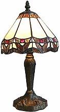 MARUA Tiffany Style Table Lamps, Retro Chic Small