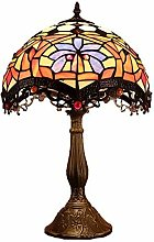 MARUA Tiffany Style Table Lighting Stained-glass