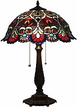 MARUA Vintage Tiffany Style Table Lamps Inch,