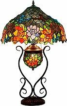 MARUA Vintage Tiffany Style Table Lamps,