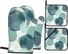 Marutuki Abstract Geometric Circles And Gold