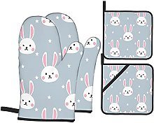 Marutuki Easter Design With Cute Rabbits,Oven