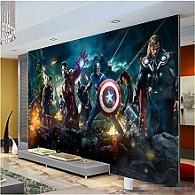 Marvel Avengers Heroes Photo Wallpaper 3D Wall