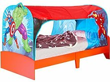 Marvel Avengers Kids Single Over Bed Fabric Tent