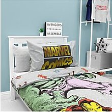 Marvel Avengers Reversible Duvet Cover and