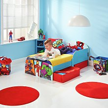 Marvel Avengers Toddler Bed with Drawers and