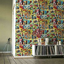 Marvel Avengers Wallpaper Multi Coloured Hulk Thor