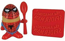 Marvel Comic Spiderman Egg Cup, Multi-Colour, 14 x