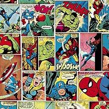 Marvel Comic Strip Wallpaper Hulk Captain America