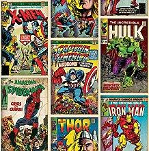 Marvel Comics Action Heroes Wallpaper