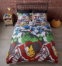Marvel Comics Marvel Squad Bedding Set - Double