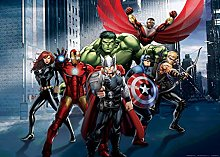 Marvel Photo Wallpaper/Giant Wall Poster,