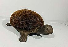 Marvells Tortoise Cast Iron Boot Brush