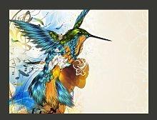 Marvelous Bird 154cm x 200cm Wallpaper East Urban