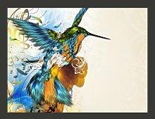 Marvelous Bird 193cm x 250cm Wallpaper East Urban