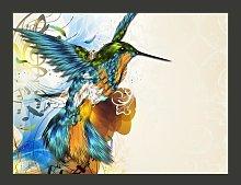 Marvelous Bird 231cm x 300cm Wallpaper East Urban