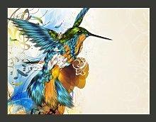 Marvelous Bird 309cm x 400cm Wallpaper East Urban