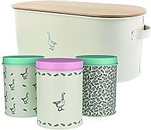 Mary Berry Collection® Large Metal Bread Bin and