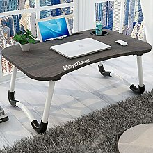 Marys Folding Laptop Bed Tray Table Portable Lap