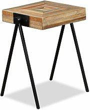 Maryville Solid Reclaimed Teak Side Table