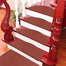 MARYYUN 15Pcs Carpet Mats Self-Adhesive Stair Mat