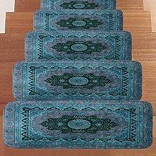 MARYYUN 5Pcs Non-Slip Stair Carpet Treads Washable