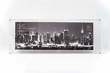 22 x 60 cm Acrylic Multicoloured Mascagni 2WC Click Photo Frame